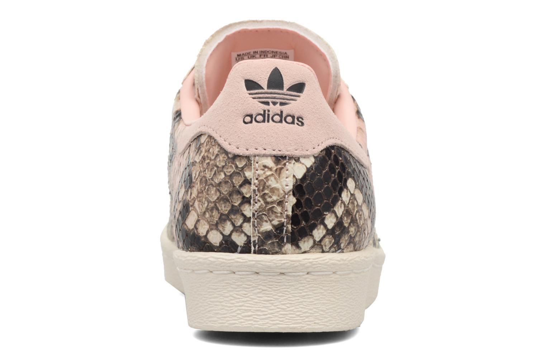 Baskets Adidas Originals Superstar 80S W Multicolore vue droite