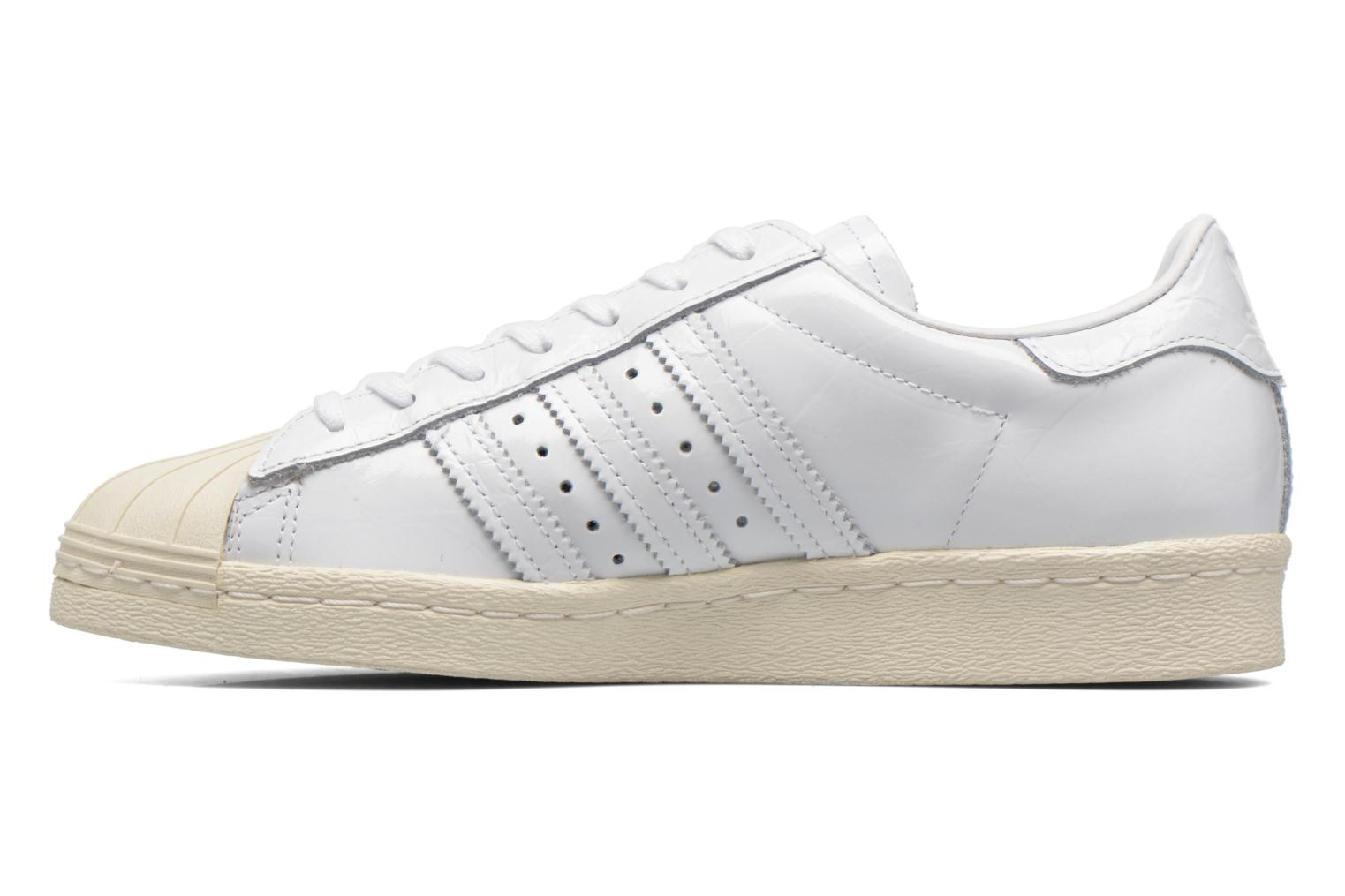 Baskets Adidas Originals Superstar 80S W Blanc vue face