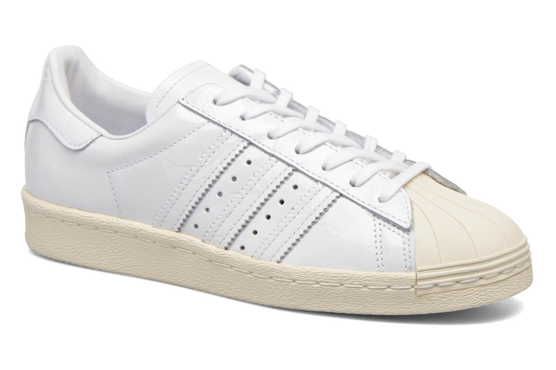 cc06250b220 Adidas Originals Superstar 80S W W W Blanc Baskets chez Sarenza 288745