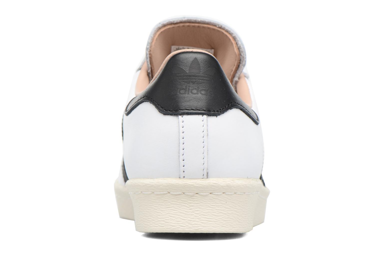 Baskets Adidas Originals Superstar 80S W Blanc vue droite