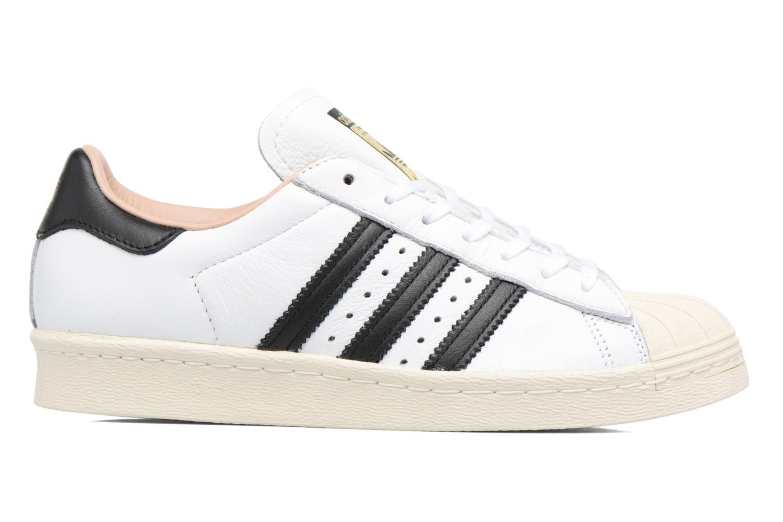 Sneakers Adidas Originals Superstar 80S W Hvid se bagfra