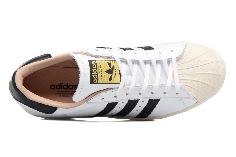 Baskets Adidas Originals Superstar 80S W Blanc vue gauche