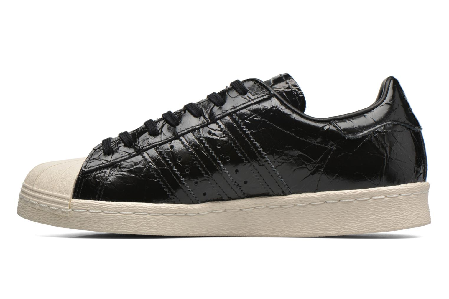 Deportivas Adidas Originals Superstar 80S W Negro vista de frente