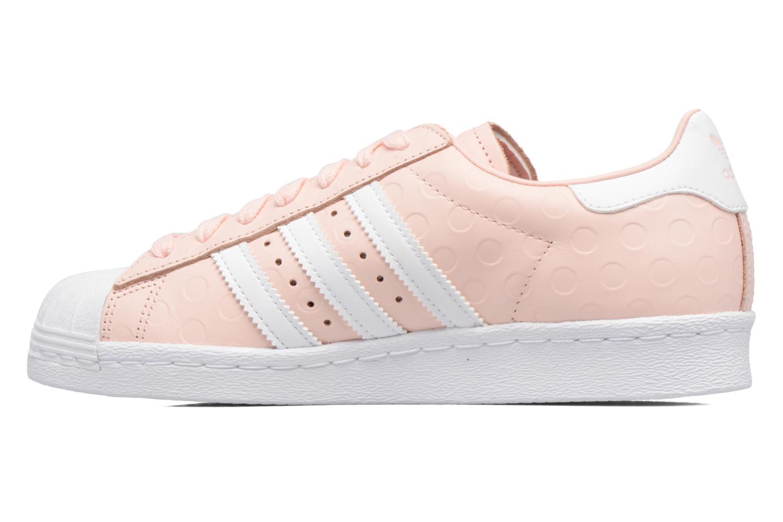 Sneakers Adidas Originals Superstar 80S W Roze voorkant