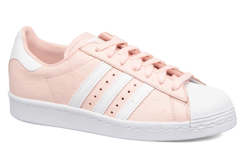 Baskets Adidas Originals Superstar 80S W Rose vue détail/paire