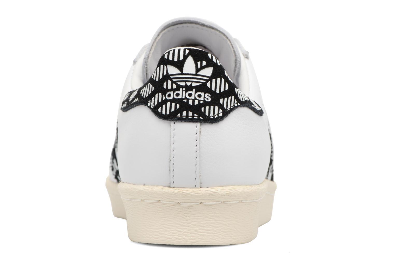 Deportivas Adidas Originals Superstar 80S W Negro vista lateral derecha