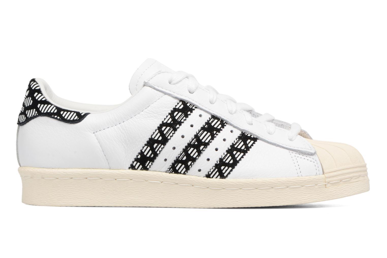 Deportivas Adidas Originals Superstar 80S W Negro vistra trasera