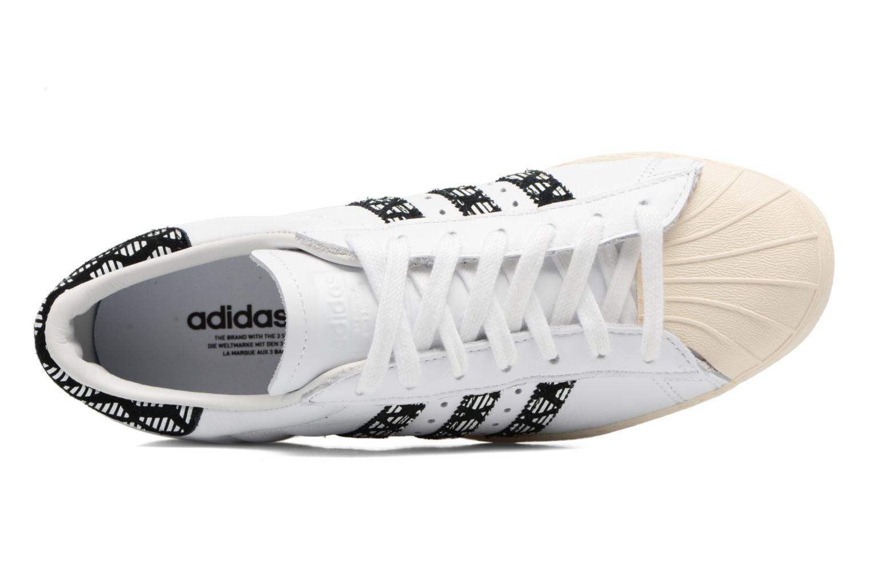 Deportivas Adidas Originals Superstar 80S W Negro vista lateral izquierda