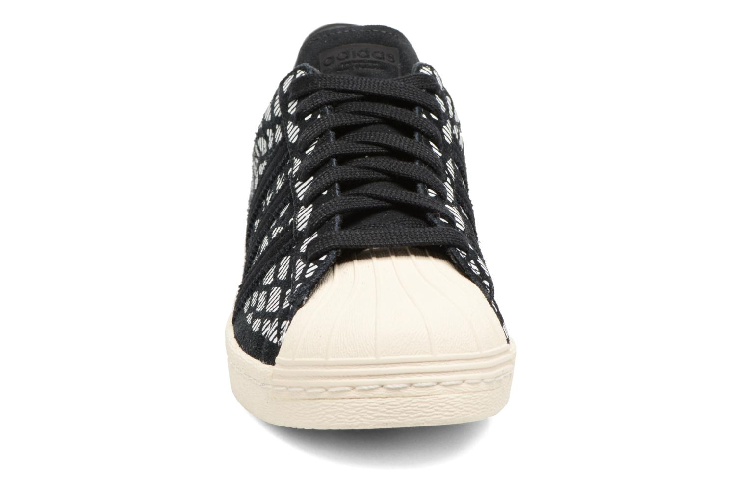 Sneakers Adidas Originals Superstar 80S W Zwart model