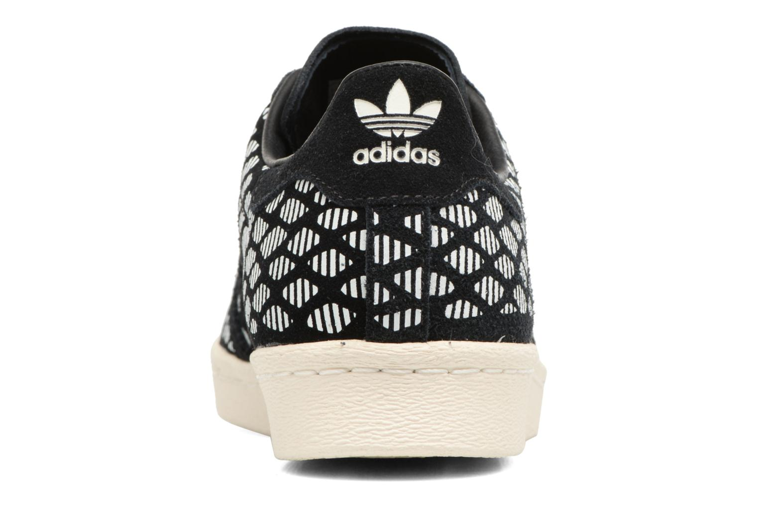 Sneakers Adidas Originals Superstar 80S W Zwart rechts