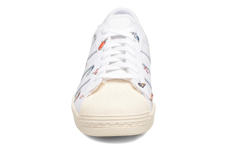 Sneakers Adidas Originals Superstar 80S W Hvid se skoene på
