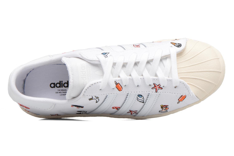 Sneakers Adidas Originals Superstar 80S W Hvid se fra venstre