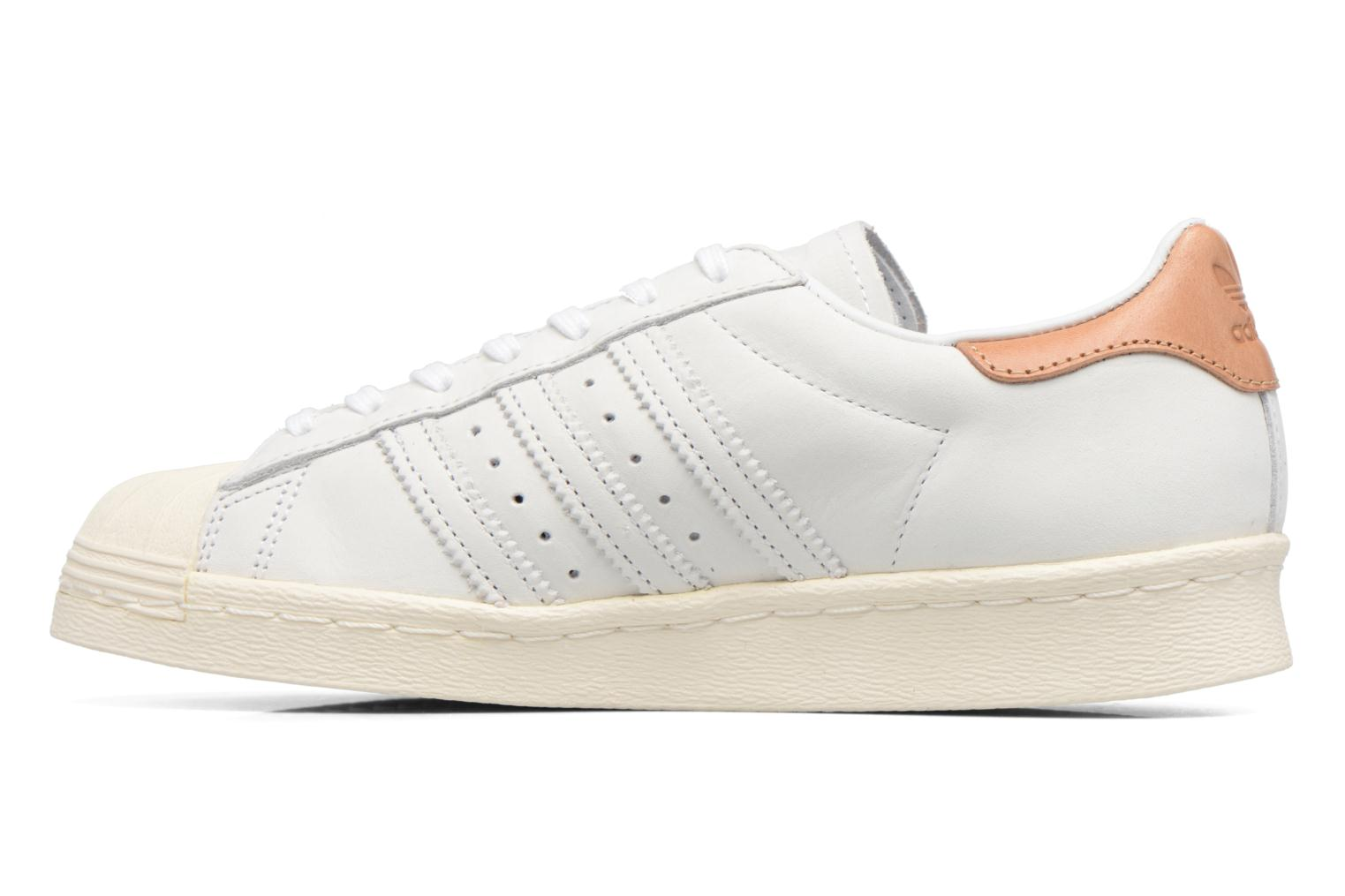 Deportivas Adidas Originals Superstar 80S W Beige vista de frente