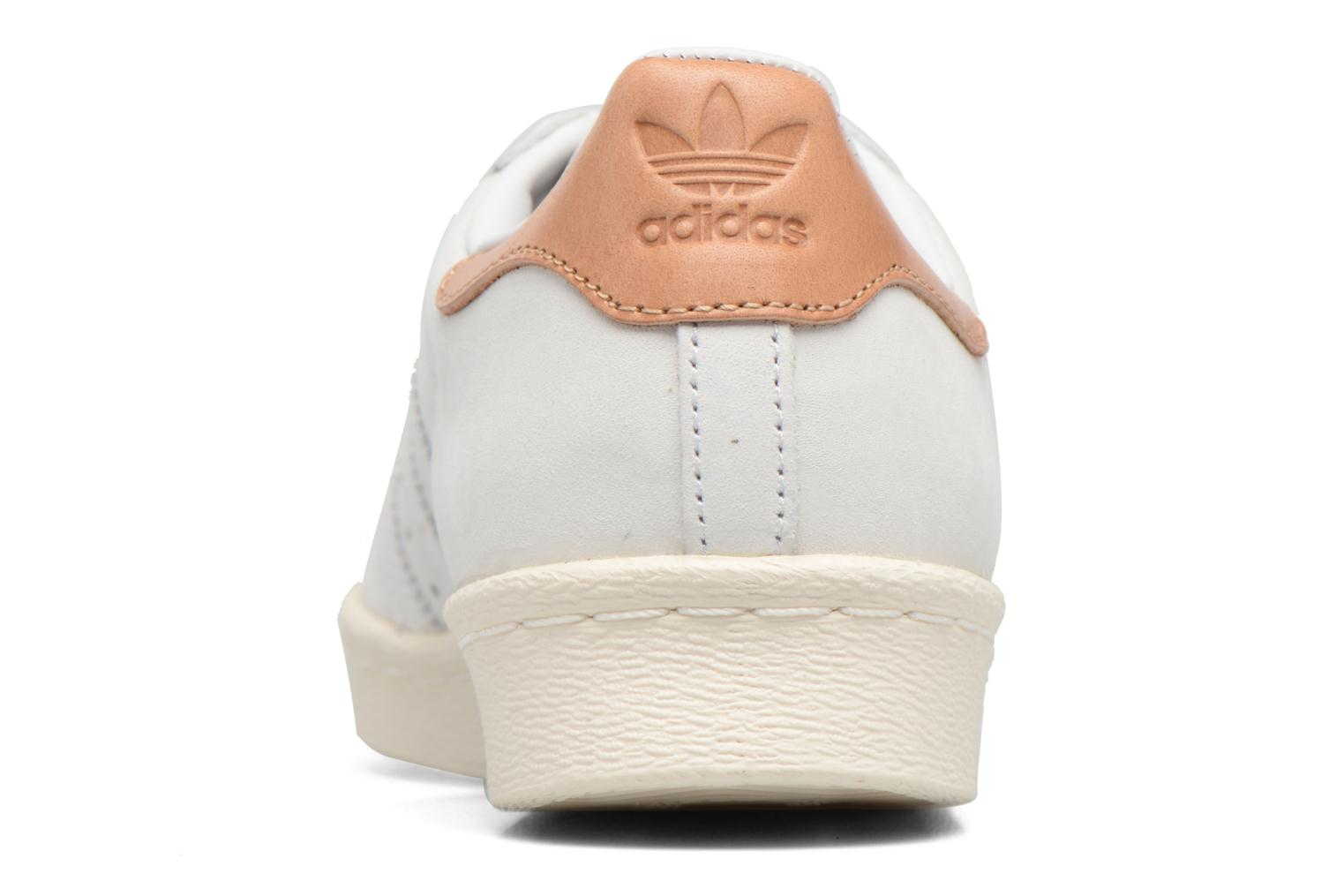 Deportivas Adidas Originals Superstar 80S W Beige vista lateral derecha