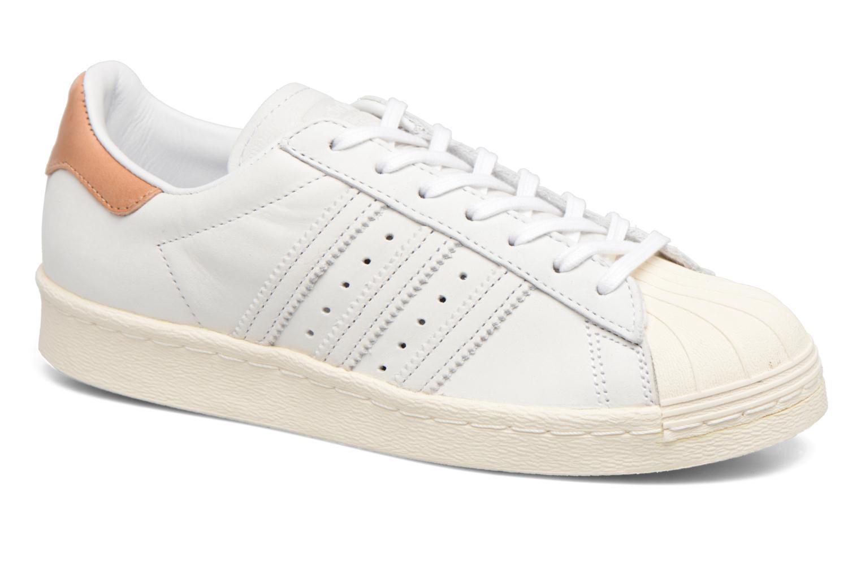 Sneakers Adidas Originals Superstar 80S W Beige detaljeret billede af skoene