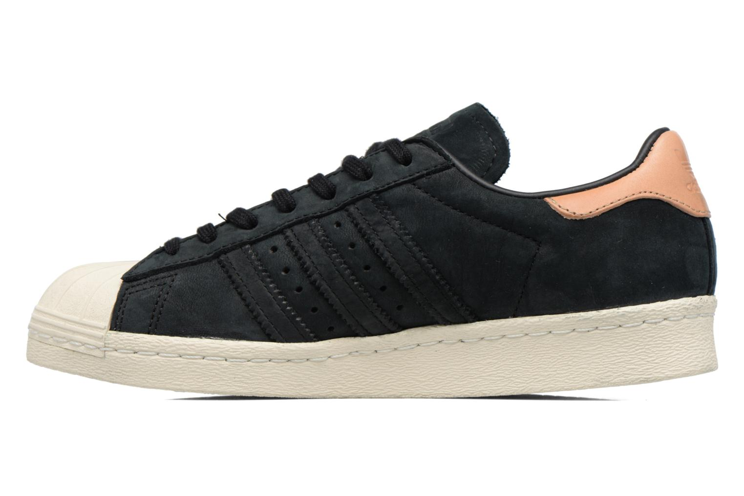 Sneakers Adidas Originals Superstar 80S W Zwart voorkant