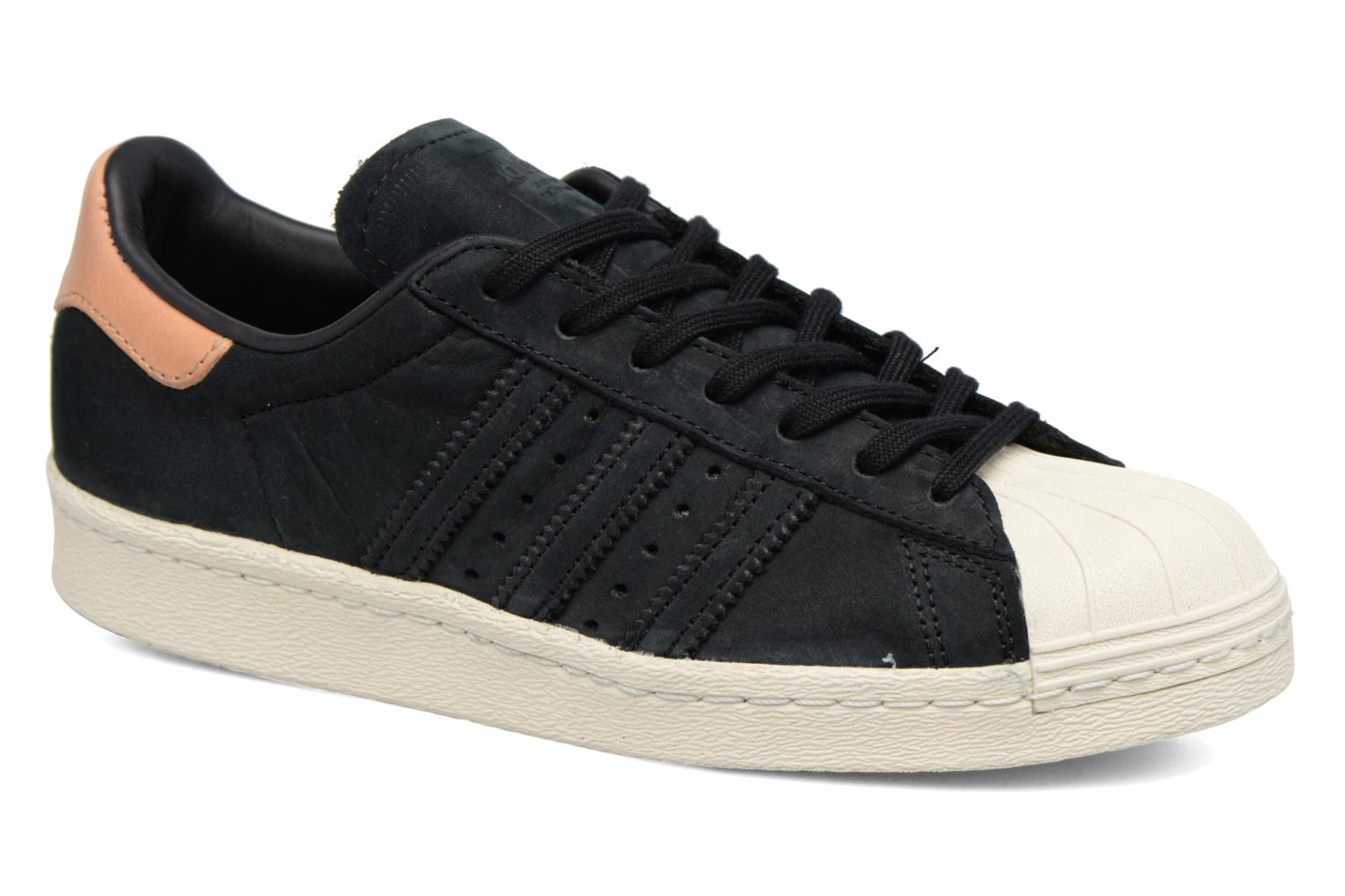 Sneakers Adidas Originals Superstar 80S W Zwart detail