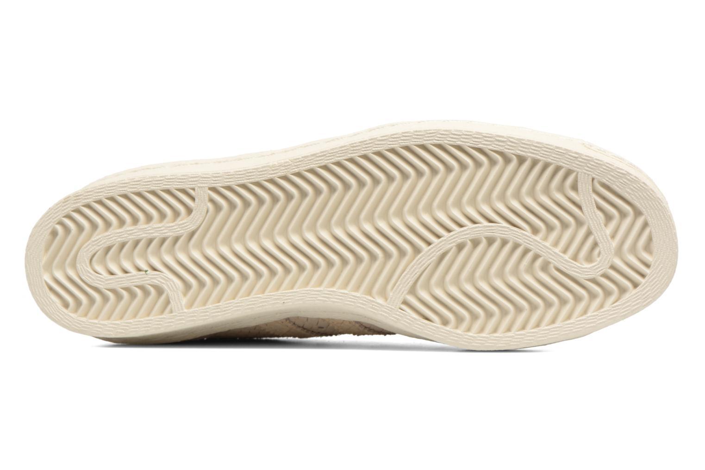 Sneaker Adidas Originals Superstar 80S W beige ansicht von oben