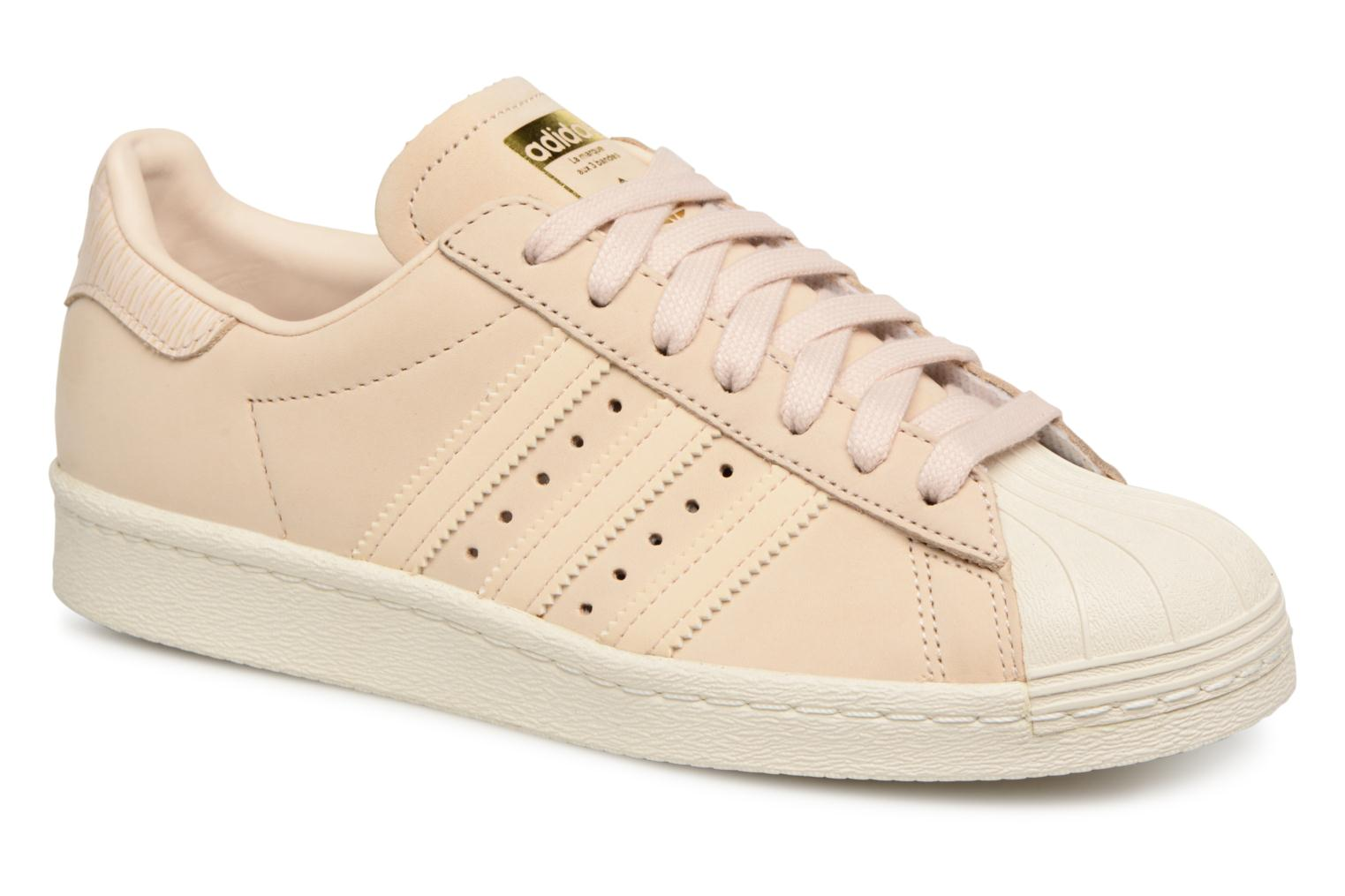Adidas Originals Superstar 80S W (Beige) - Baskets en Más cómodo Remise de marque