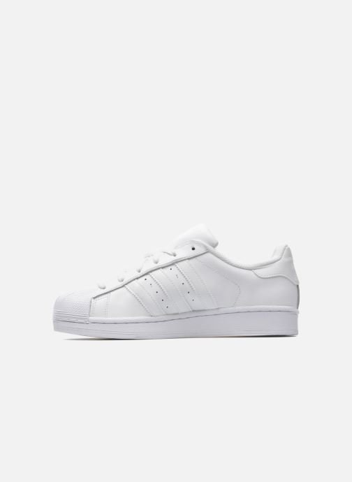 Sneakers adidas originals Superstar Foundation Wit voorkant