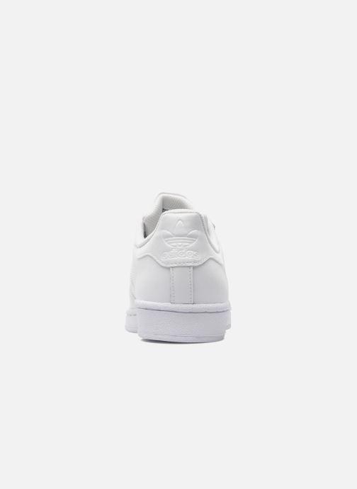 Sneaker adidas originals Superstar Foundation weiß ansicht von rechts
