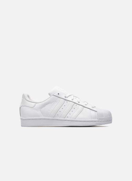 Baskets adidas originals Superstar Foundation Blanc vue derrière