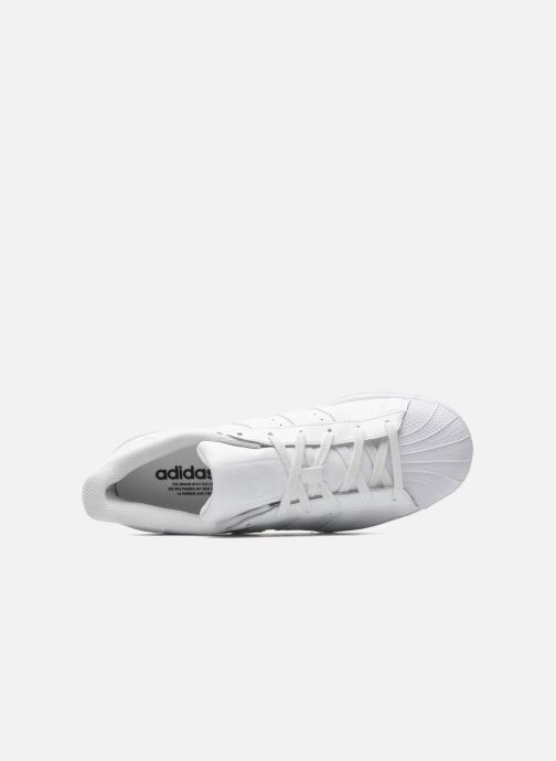Sneaker adidas originals Superstar Foundation weiß ansicht von links