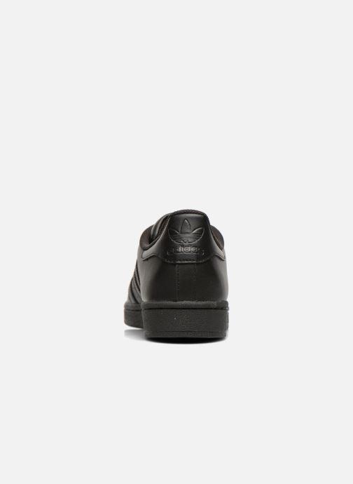 Sneakers adidas originals Superstar Foundation Zwart rechts