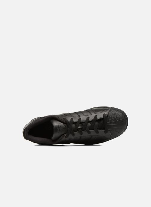 Sneaker adidas originals Superstar Foundation schwarz ansicht von links