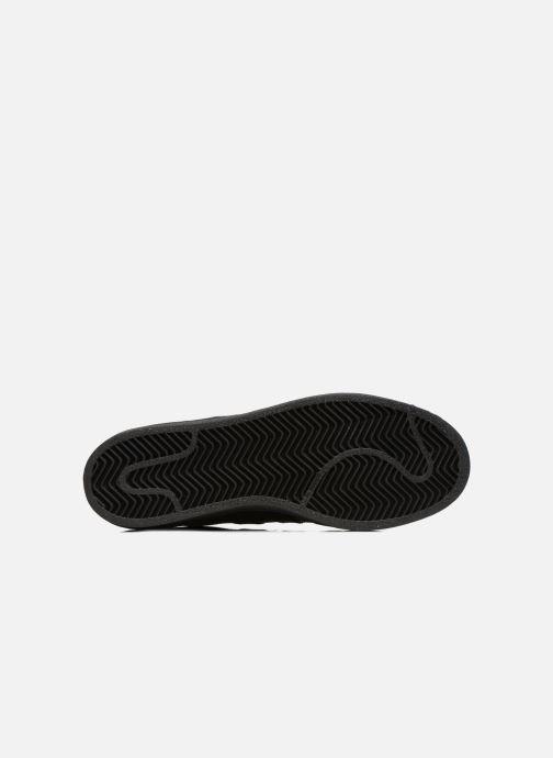 Sneaker adidas originals Superstar Foundation schwarz ansicht von oben