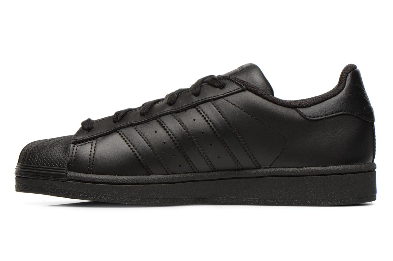 Sneakers Adidas Originals Superstar Foundation Nero immagine frontale