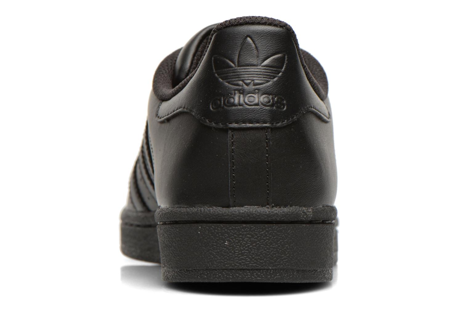 Sneakers Adidas Originals Superstar Foundation Nero immagine destra