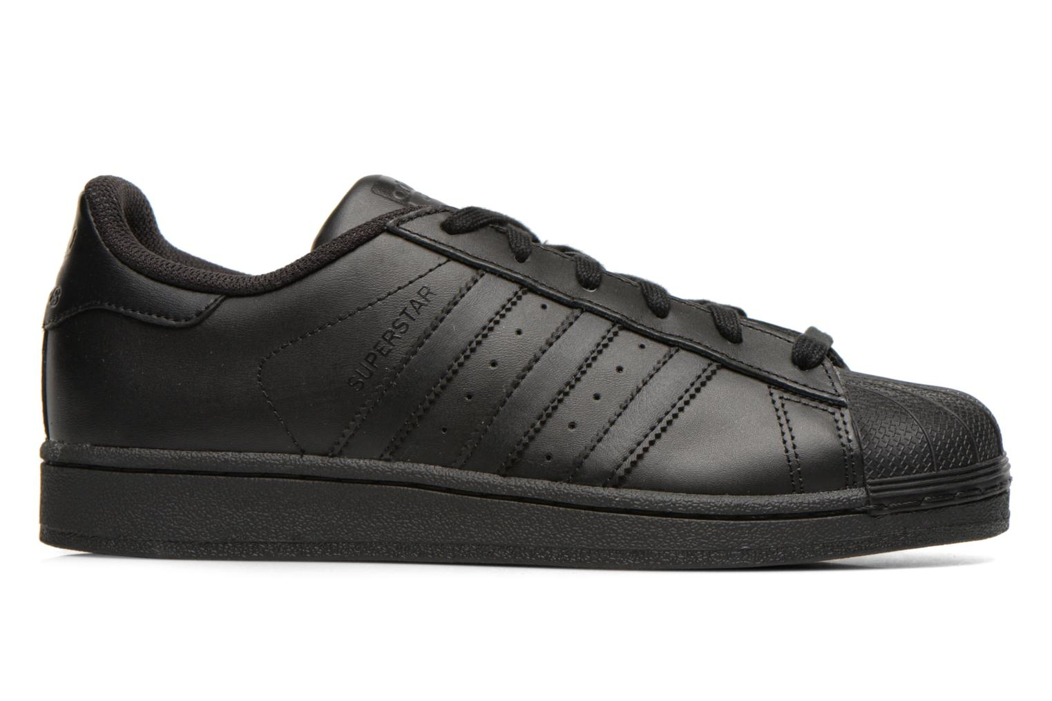 Sneakers Adidas Originals Superstar Foundation Nero immagine posteriore