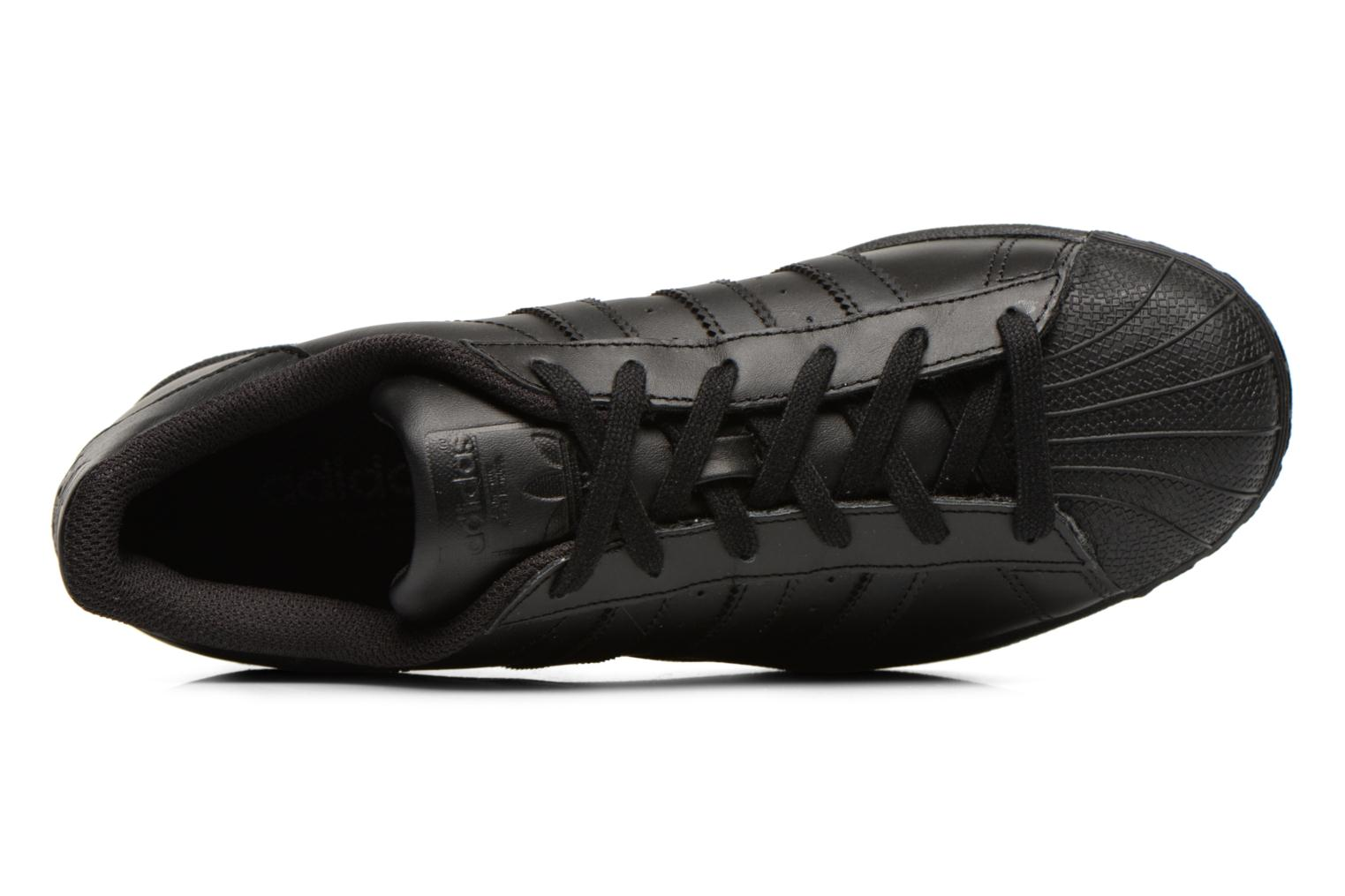 Sneakers Adidas Originals Superstar Foundation Nero immagine sinistra