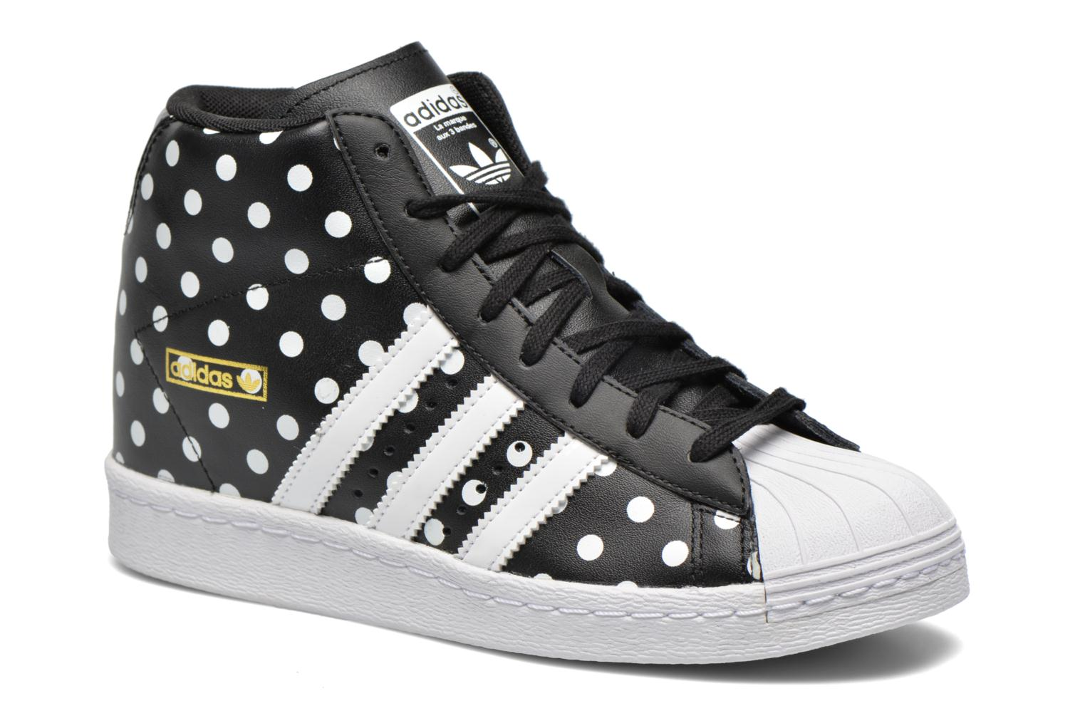 Baskets Adidas Originals Superstar Up W Noir vue détail/paire