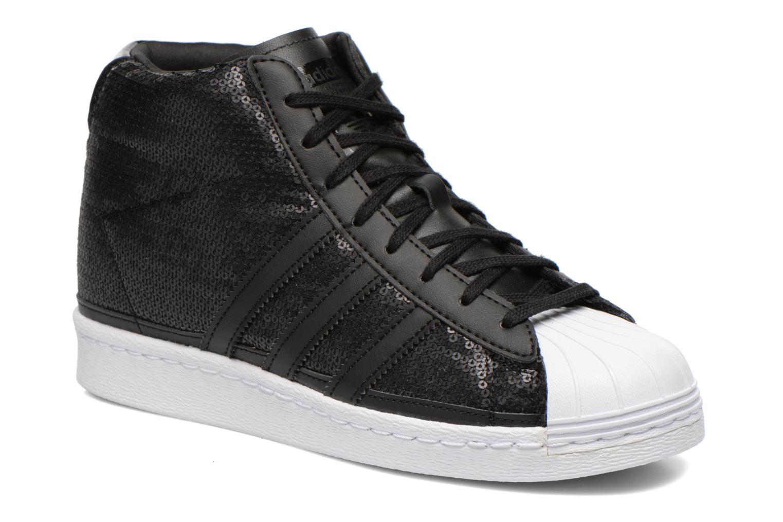 Baskets Adidas Originals Superstar Up W Noir vue détail/paire
