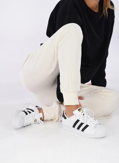 Sneakers adidas originals Superstar W Wit onder