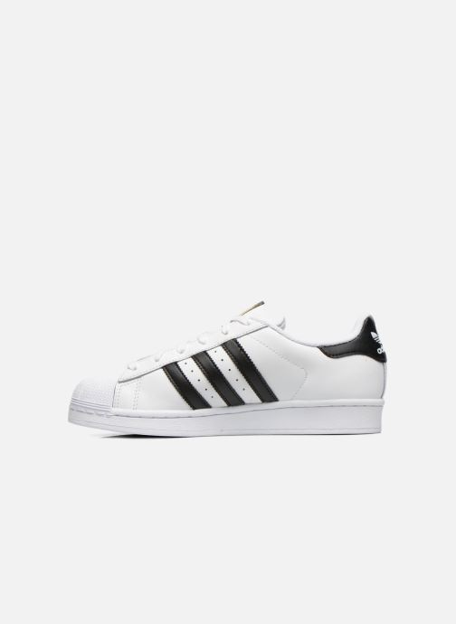 Baskets adidas originals Superstar W Blanc vue face