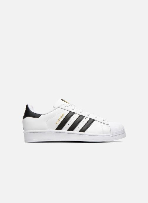 Deportivas adidas originals Superstar W Blanco vistra trasera