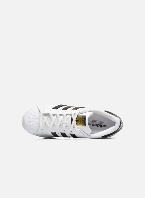 Deportivas adidas originals Superstar W Blanco vista lateral izquierda