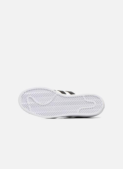 Sneaker adidas originals Superstar W weiß ansicht von oben