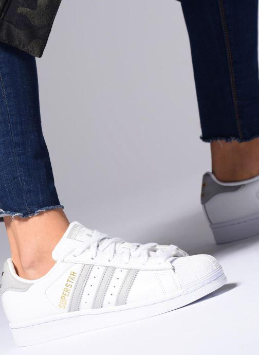 adidas originals Superstar W (Blanc) - Baskets (265047)