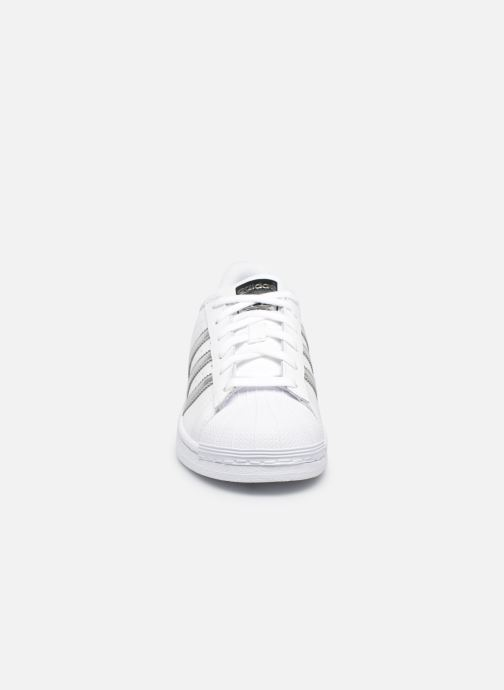 Deportivas adidas originals Superstar W Blanco vista del modelo