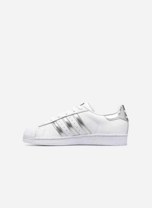 Deportivas adidas originals Superstar W Blanco vista de frente