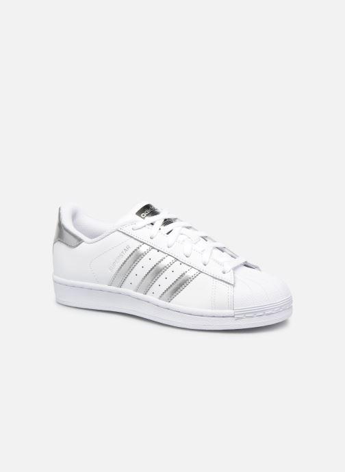 74155e83896 Sneakers adidas originals Superstar W Hvid detaljeret billede af skoene