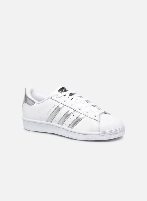 Sneakers adidas originals Superstar W Wit detail