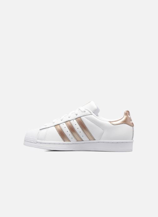 Sneakers adidas originals Superstar W Wit voorkant
