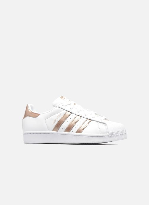 Sneakers adidas originals Superstar W Wit achterkant