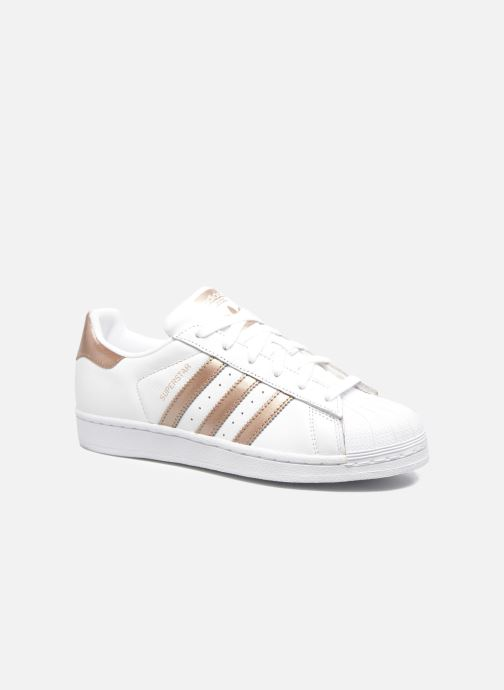 designer fashion 77209 443c7 Baskets adidas originals Superstar W Blanc vue détailpaire