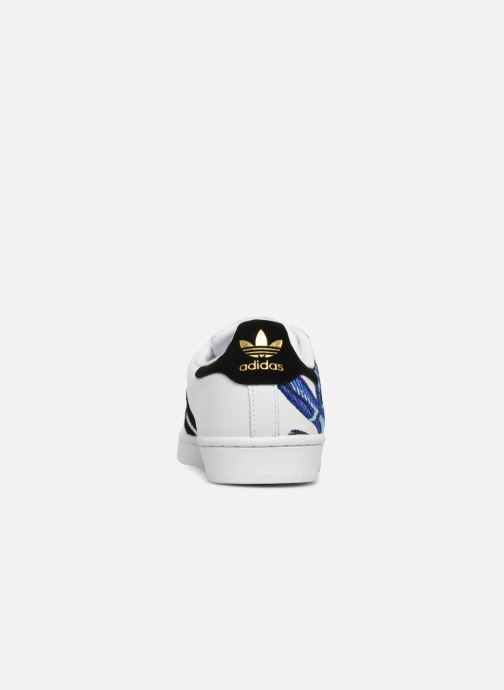 Baskets adidas originals Superstar W Blanc vue droite